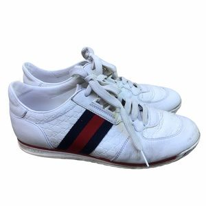 Gucci Ace Sneakers Well Worn Trainers 37.5